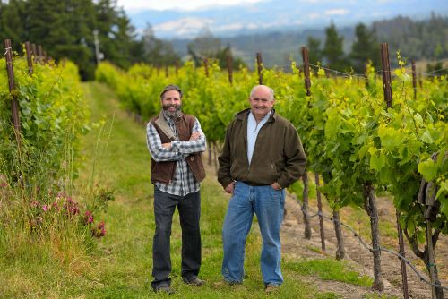 Owner/Winemaker Jim and Greg of Gregory James Wines, Sonoma